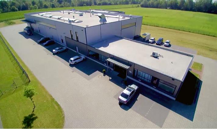 Antihaftbeschichtungen | Firmengebäude in Wilhelmshaven